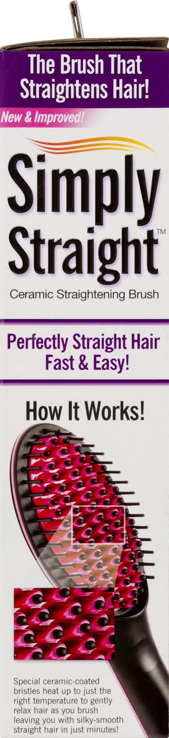 As Seen on TV Simply Straight Brush - Walmart com