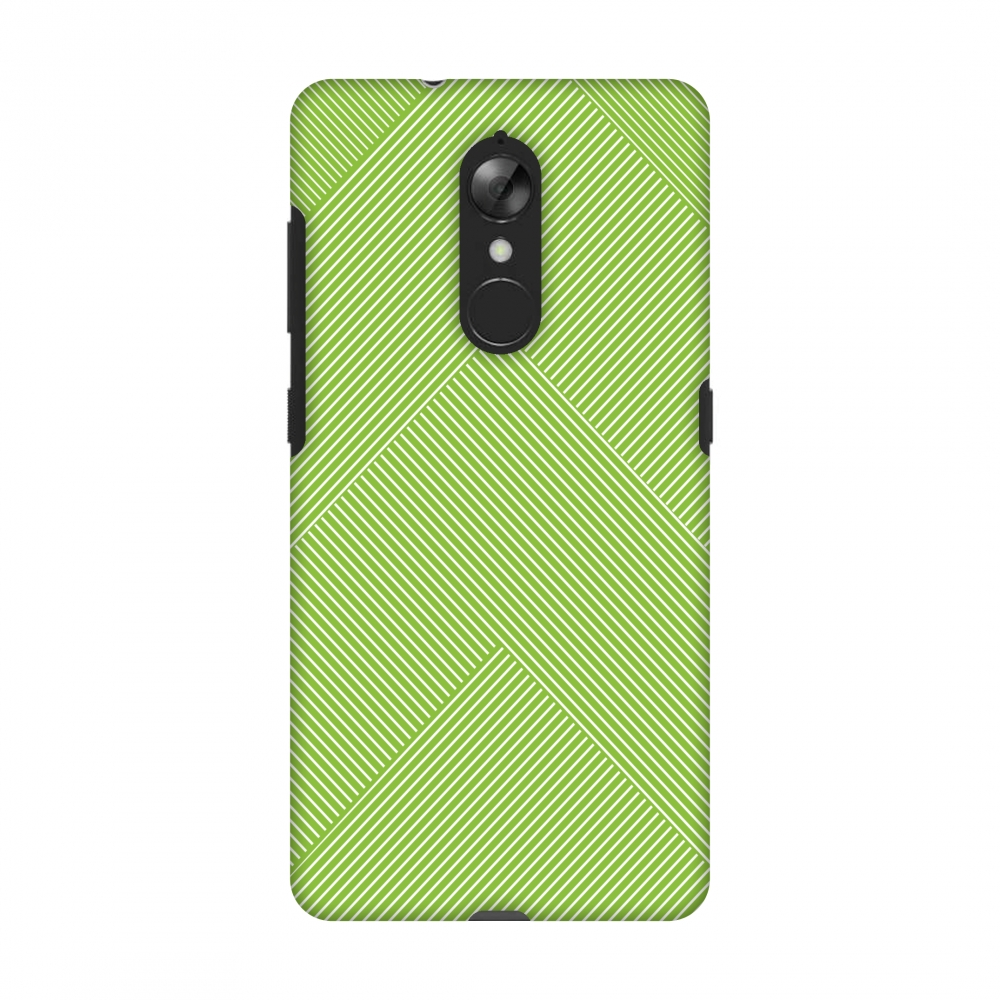Lenovo K8 Case, Premium Handcrafted Printed Designer Hard Snap on Shell Case Back Cover with Screen Cleaning Kit for Lenovo K8 - Carbon Fibre Redux Pear Green 4