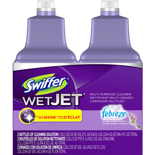 Swiffer WetJet Multi-Purpose Cleaner Solution Refill 2 Pack (choose your scent)