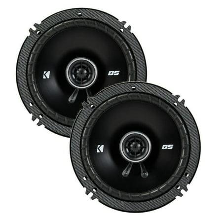 43DSC6504 KICKER 6.5-Inch (160-165mm) Coaxial Speakers, 4-Ohm