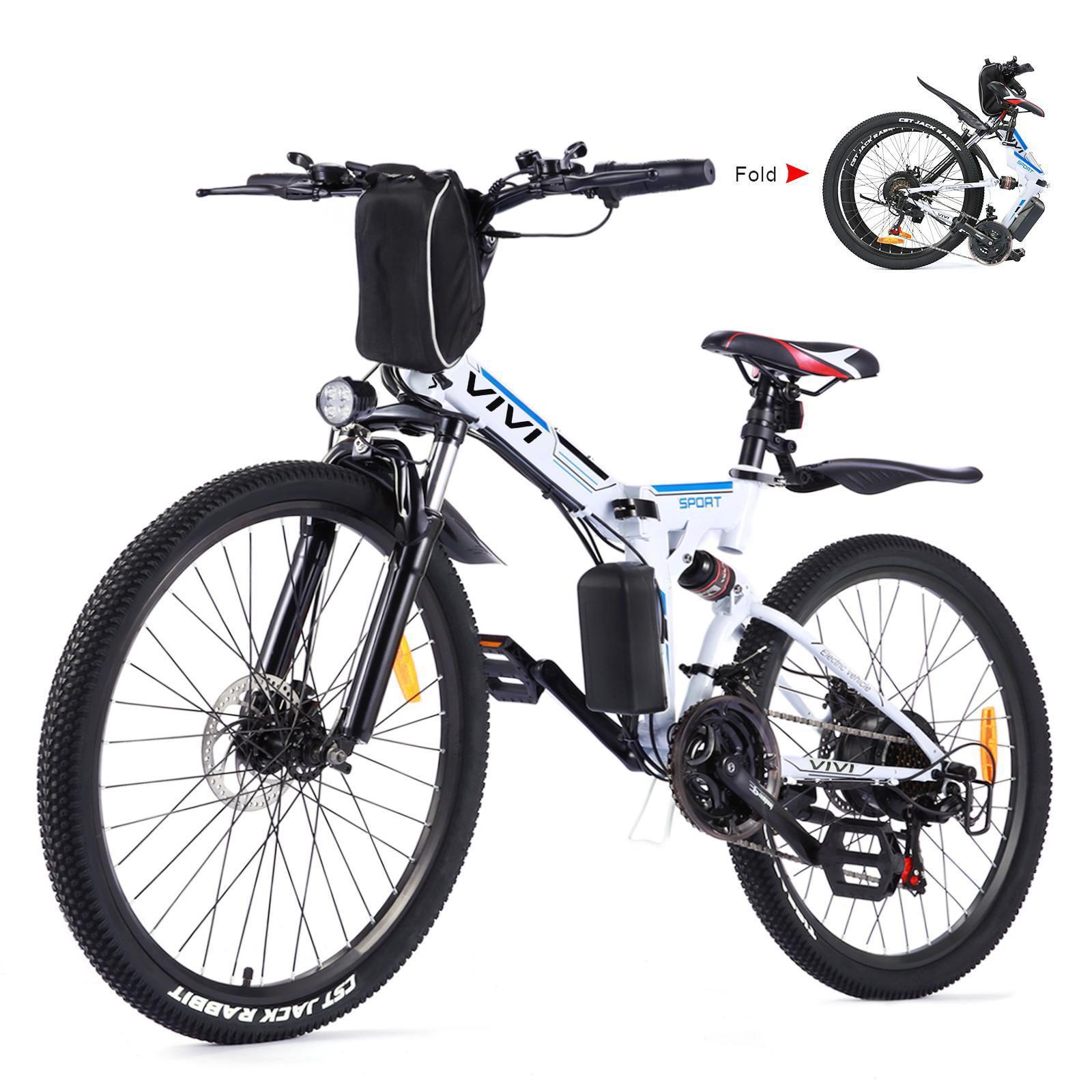Details about  /26INCH Electric Bike Mountain Bicycle E-Bike 350W Shimano 21Speed Lightweight*