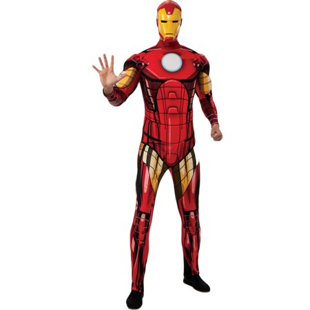 Morris costumes RU880669 Iron Man Dlx Adult - Ironman Costume Adult