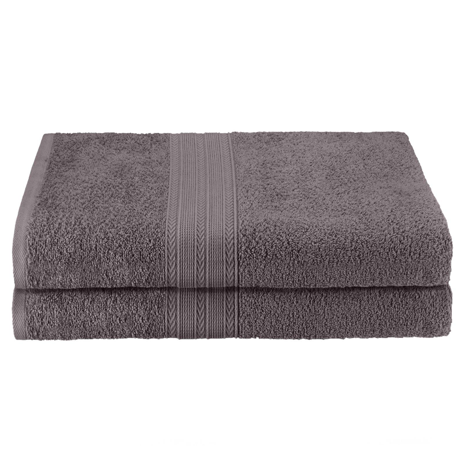 Impressions 100% Ring spun Cotton 2PC Bath Sheet Towel Set