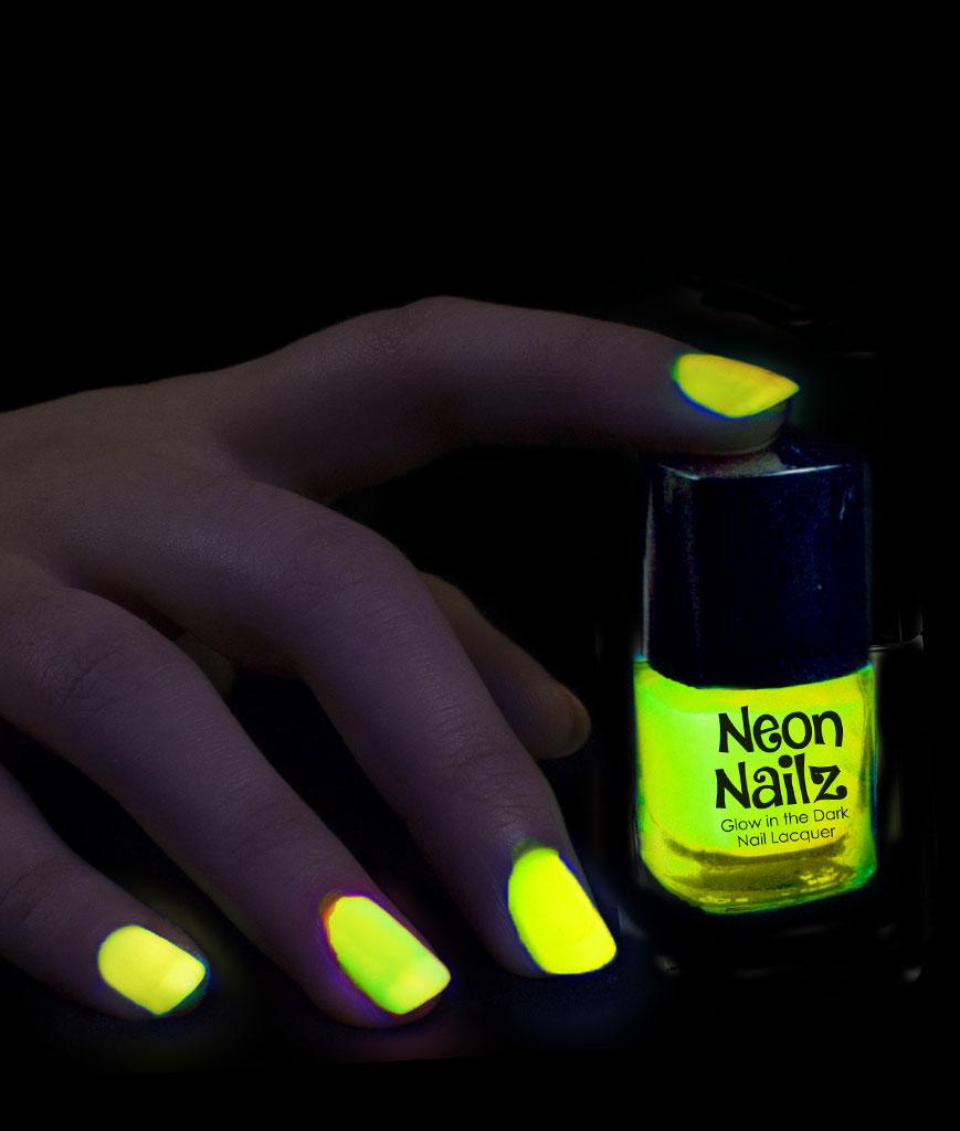 Glow in the Dark Nail Polish - Orange - Walmart.com