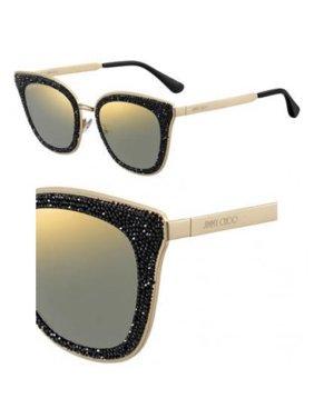 62d371d1941 Product Image Jimmy Choo LIZZY S 02M2 Black Gold Cat Eye Sunglasses