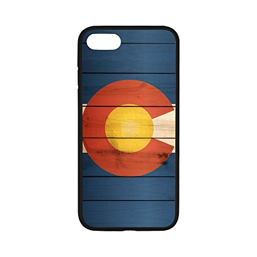 Ganma Colorado Flag Case Trianium Protective Clear Bumper Case For iPhone 7 4.7 inches