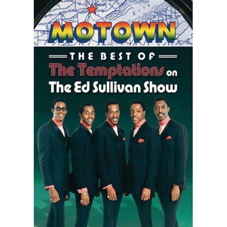 TEMPTATIONS-BEST OF THE TEMPTATIONS ON THE ED SULLIVAN SHOW (DVD)