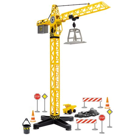 Adventure force light and sound crane set