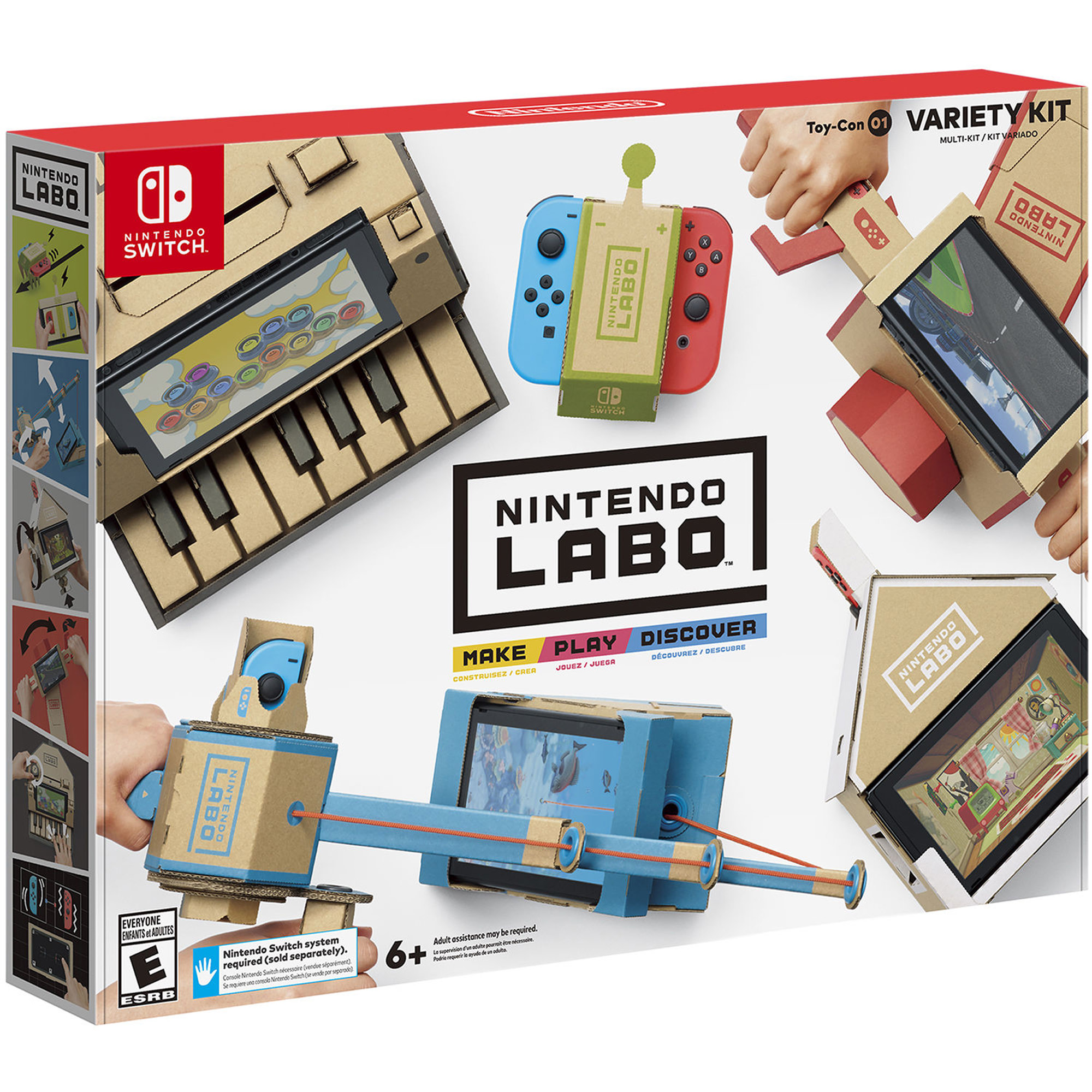 Nintendo Labo Variety Kit (Nintendo Switch), HACRADFUA