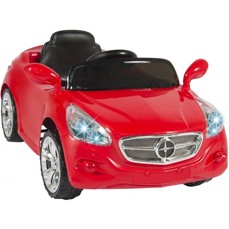 12V Ride On Car Kids Rc Remote Control Electric Battery Power W  Radio   Mp3 Red