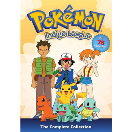 Pokemon: Season 1 Indigo League Complete Collection (DVD) (Pokemon Complete Set)
