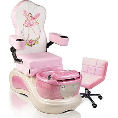 Kids Pedicure Chair PINK PIXIE Childs Pedicure Spa Nail Salon ...