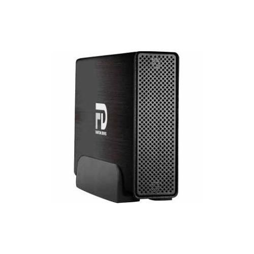 Fantom Drives Professional 3 TB External Hard Drive-Brushed Black-GFP3000Q3