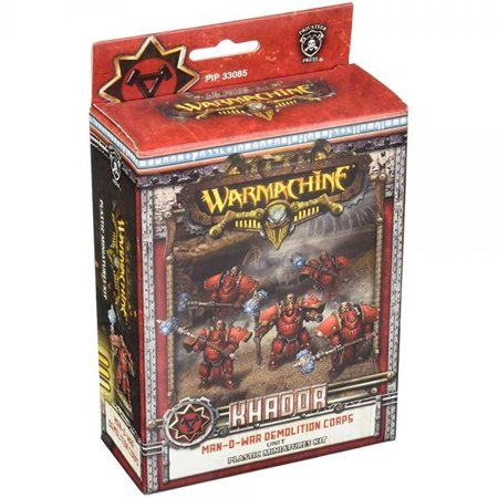 Privateer Press - Warmachine - Khador Man-O-War Demo Corps Plastic Model Kit