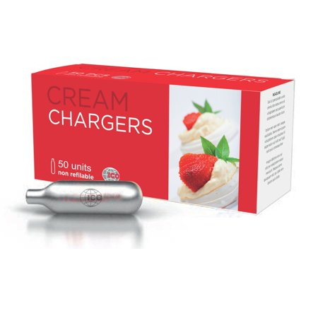 ICO Whipped Cream Chargers, 50 Pack