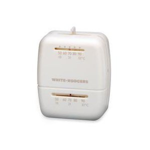 White-Rodgers 1C20-102 Single Stage - Low Voltage Thermostat (24v Heat Only)