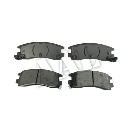 AAL Premium Ceramic Rear BRAKE PADS For 1998 1999 CHEVROLET MONTECARLO (Complete set 4 pieces)