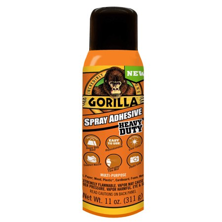 Gorilla Spray Adhesive, 11 oz.