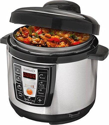 Premium PPC1058D Jpremium 5.2qt Digital Pressure Cooker