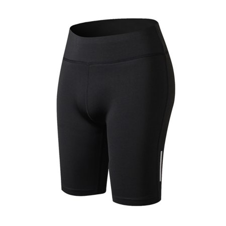 Women Compression Shorts Sports Gym Fitness Running Yoga Pants ()