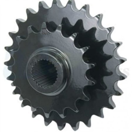 Sprocket - Double, Stuffer Feeder, Left Hand Drive, New, Case IH, 87664058, New Holland, 86613346 Left Hand Ti Driver