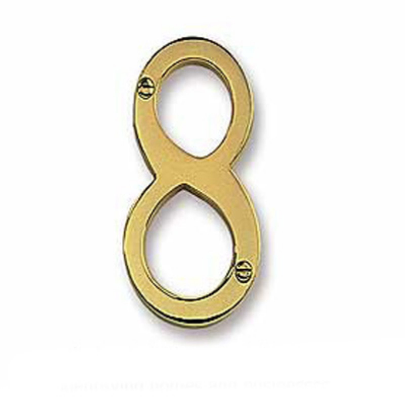 Salsbury Solid Brass Number