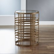 FirsTime & Co. Industrial Weave Side Table