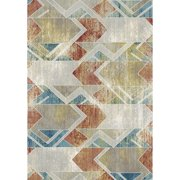 Dynamic Rugs Prism Machine-made 4433 Grey/multi 6.7x9.6 Rectangle