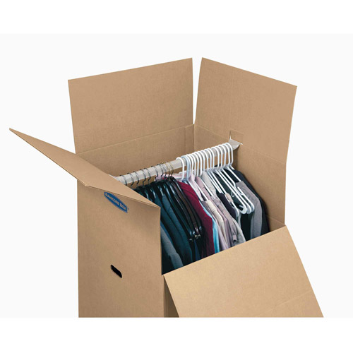 Bankers Box SmoothMove Wardrobe Box Large, 1 pk