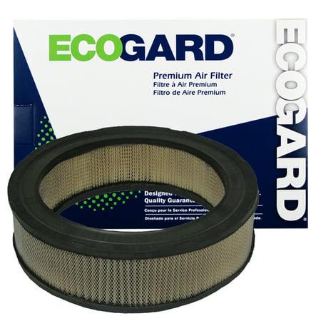ECOGARD XA4 Premium Engine Air Filter Fits Dodge Dakota, D150; Jeep Grand Wagoneer, CJ5; Ram 1500 Van, B2500, B250, Ram 3500 Van, B3500, W150, B350, Ram 2500 Van, B1500, Ramcharger, W250