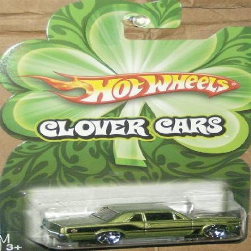 Mattel Hot Wheels 2009 Clover Cars Series 1:64 Scale Die Cast Metal Car '64 Pontiac GTO by
