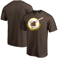 San Diego Padres Fanatics Branded Cooperstown Forbes T-Shirt - Brown
