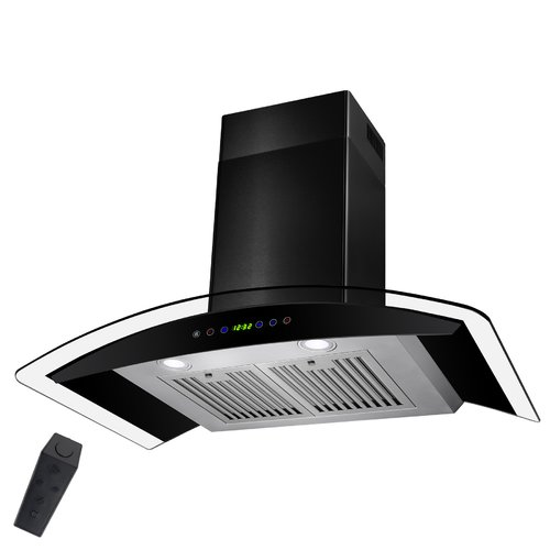 "Image of AKDY 36"" 400 CFM Convertible Wall Mount Range Hood"