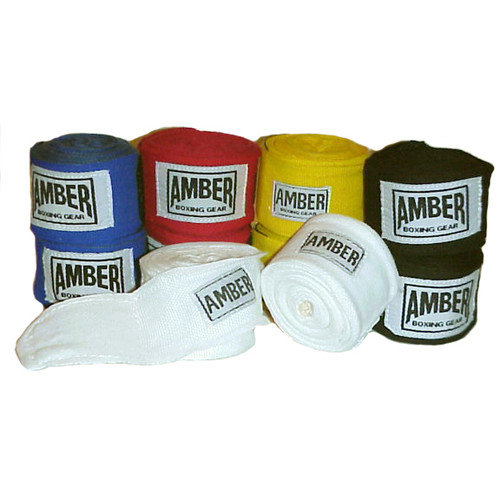 Amber Sporting Goods 120'' Classic Weave Junior Handwraps (Set of 2)