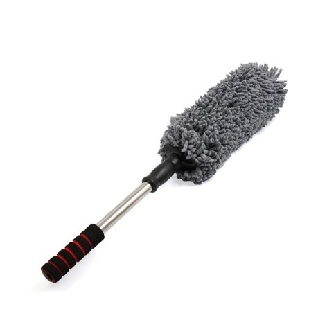 gray microfiber telescoping car duster wax mop vehicle extendable cleaning tool. Black Bedroom Furniture Sets. Home Design Ideas