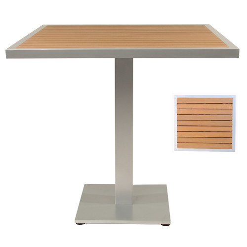 Adriano Teak Pub Table by Adriano