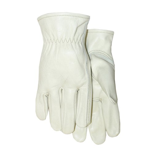 Midwest Quality Gloves, Inc. Men's Grain Leather Gloves, X-Large