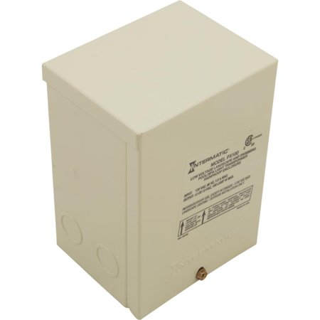 Transformer, Intermatic, 115v, 12v/13v, 100w, Beige, Steel