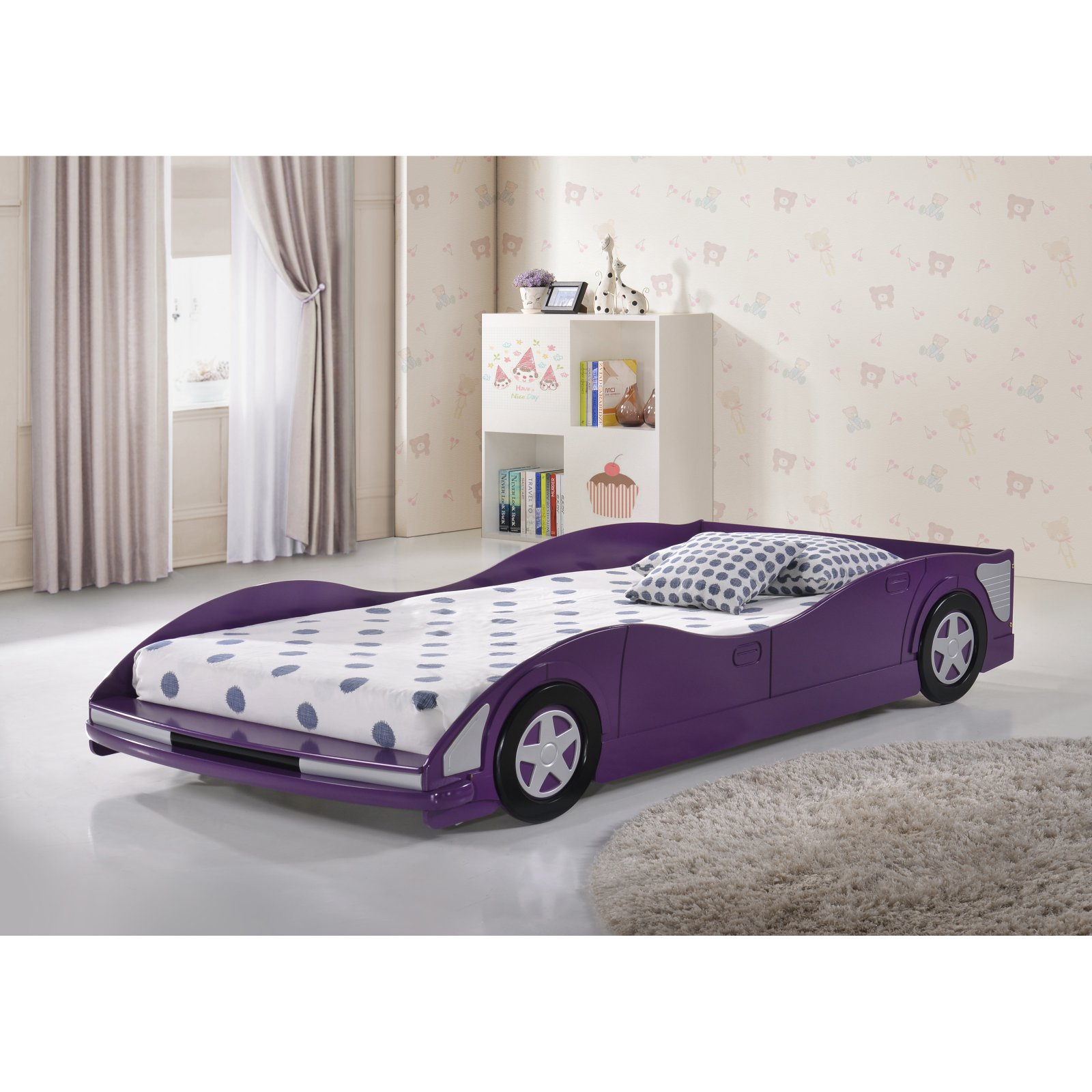 Donco Kids Race Car Bed by Pivot Direct Inc
