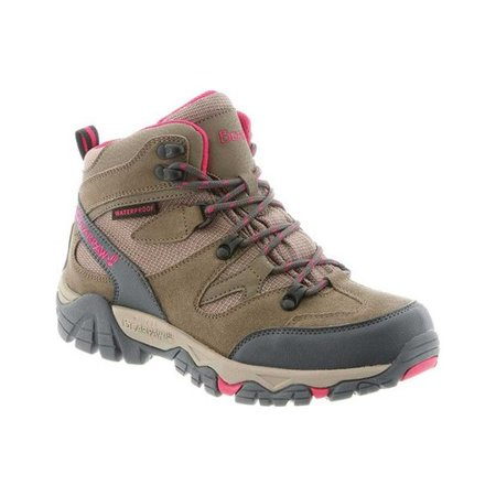 Women's Bearpaw Corsica Solids Waterproof Hiking Boot Grey Hiking Boots