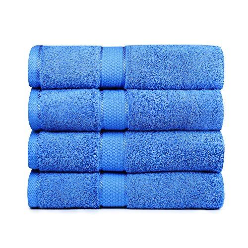 Bigsal 4-Piece Luxury Bath Towels Set