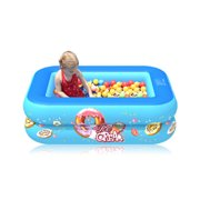 Children Inflatable Swimming Pool Summer Party Family Water Play Multi-Layer Outdoor Summer Toy for Kids and Adult