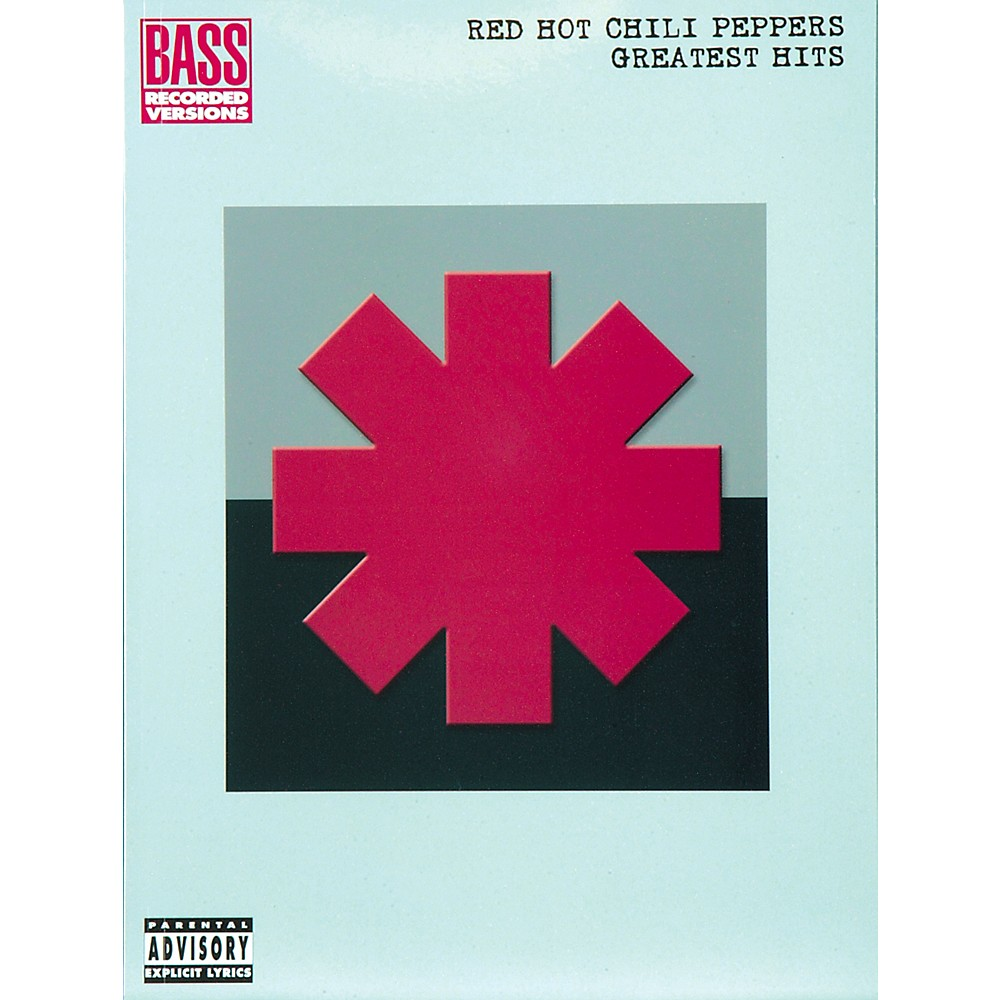 Hal Leonard Red Hot Chili Peppers Greatest Hits Bass Guitar Tab Songbook