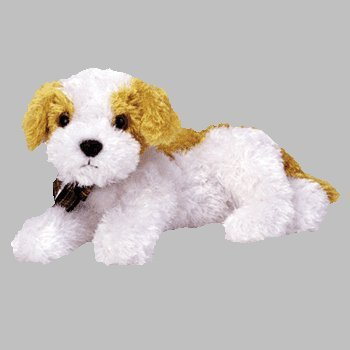 Beanie Baby   Darling The Dog  Soft And Cuddly Beanie Baby By Ty