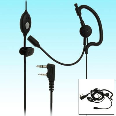 For TK Series Kenwood Walkie Talkies 2 Way Earphone Headset