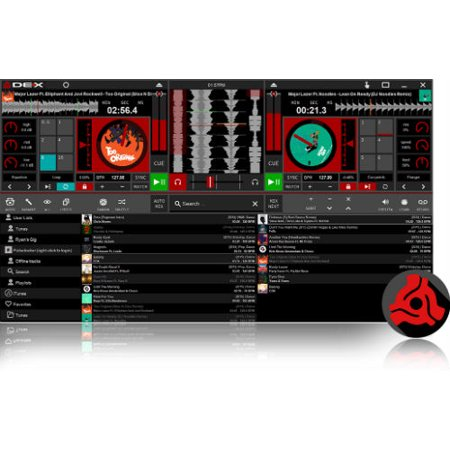 PCDJ DEX 3 RE DJ Software (Remix Dj Software)