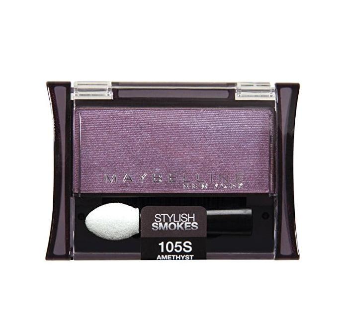 Maybelline Expert Wear Stylish Smokes Eyeshadow Single, 105S Amethyst, 0.09 oz
