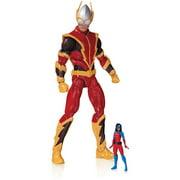 DC Comics Super Villains Johnny Quick and Atomica Action Figure