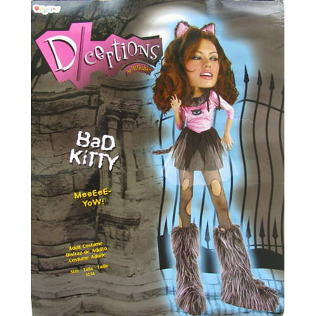 Disguise Womens 'Bad Kitty' Halloween Costume