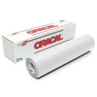 Oracal 651 Matte Vinyl Rolls - White